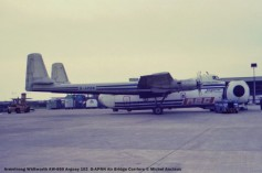 111 Armstrong Whitworth AW-650 Argosy 102 G-APRN Air Bridge Carriers © Michel Anciaux