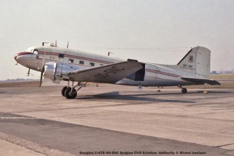 113 Douglas C-47B OO-SNC Belgian Civil Aviation Authority © Michel Anciaux