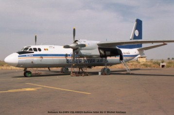 21 Antonov An-24RV EW-46829 Guinee Inter Air © Michel Anciaux