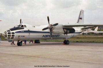 29 Ant 30 RA-30070 Aeroflot © Michel Anciaux
