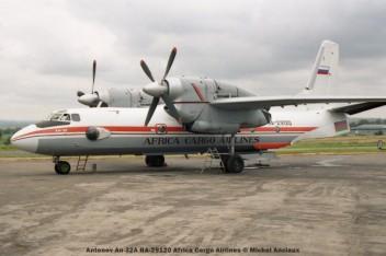 32 Antonov An-32A RA-29120 Africa Cargo Airlines © Michel Anciaux