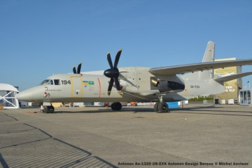36 Antonov An-132D UR-EXK Antonov Design Bureau © Michel Anciaux
