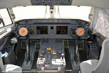 38 Antonov An-132D UR-EXK Antonov Design Bureau © Michel Anciaux