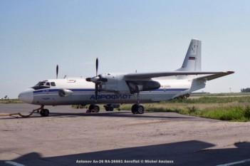 42 Antonov An-26 RA-26661 Aeroflot © Michel Anciaux