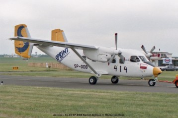 42 Antonov An-28 SP-DDB Sprint Airlines © Michel Anciaux