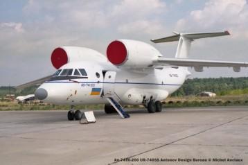 48 An-74TK-200 UR-74055 Antonov Design Bureau © Michel Anciaux