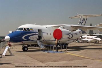 53 Antonov An-74TK-300 UR-74300 Kharkov State Aircraft Manufacturing © Michel Anciaux