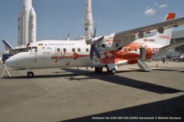 57 Antonov An-140-100 UR-14002 Aeromost © Michel Anciaux