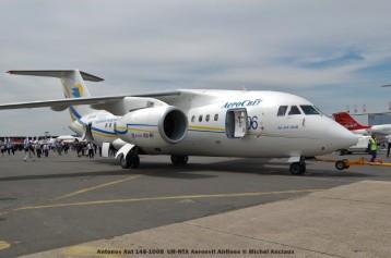 63 Antonov Ant 148-100B UR-NTA Aerosvit Airlines © Michel Anciaux