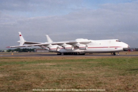 93 Antonov An-225 CCCP-82060 Antonov Design Bureau © Michel Anciaux