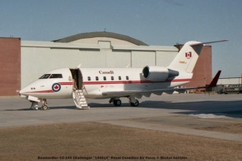 img269 Bombardier CC-144 Challenger ''144614'' Royal Canadian Air Force © Michel Anciaux