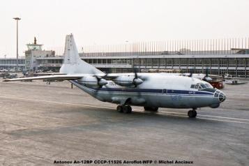 img419 Antonov An-12BP CCCP-11526 Aeroflot-WFP © Michel Anciaux