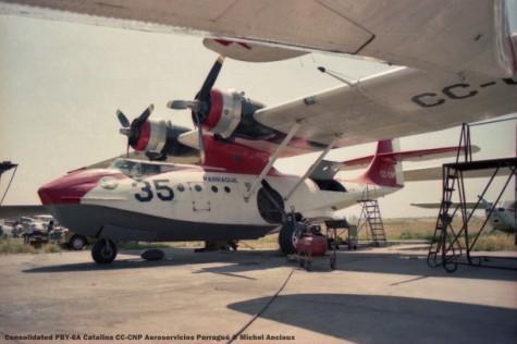 001 Consolidated PBY-6A Catalina CC-CNP Aeroservicios Parragué © Michel Anciaux