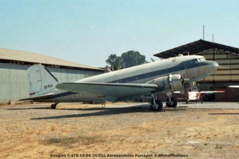 025 Douglas C-47B-15-DK CC-CLL Aeroservicios Parragué © Michel Anciaux