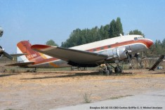 026 Douglas DC-3C CC-CBO Carlos Griffin C. © Michel Anciaux