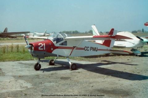 038 Messerschmitt Bolkow Blohm Bo-208C CC-PWU. © Michel Anciaux