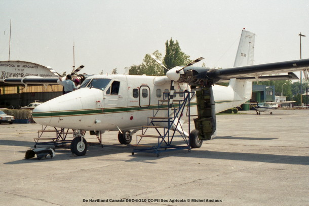 041 De Havilland Canada DHC-6-310 CC-PII Soc Agricola © Michel Anciaux