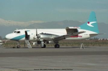 044 Convair 580 C-GKFJ Pullman Express. © Michel Anciaux