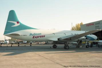 046 Convair 580 C-GKFJ Pullman Express. © Michel Anciaux