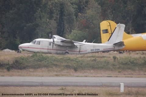 055 Aerocommander 680FL ex CC-COA Varmontt Express © Michel Anciaux