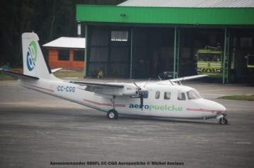 057 Aerocommander 680FL CC-CGO AeroPuelche © Michel Anciaux