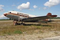 059 Douglas DC-3C CC-CBO Aerocargo © Michel Anciaux