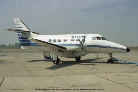 061 British Aerospace BAe 3101 Jetstream 31 CC-CZA Aeromet © Michel Anciaux