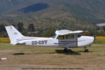 DSC_0033 Cessna 172M CC-CGV Club Aereo Adolfo Menadier © Michel Anciaux