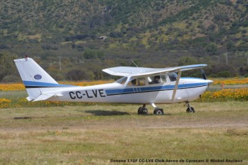 DSC_0052 Cessna 172F CC-LVE Club Aéreo de Curacaví © Michel Anciaux