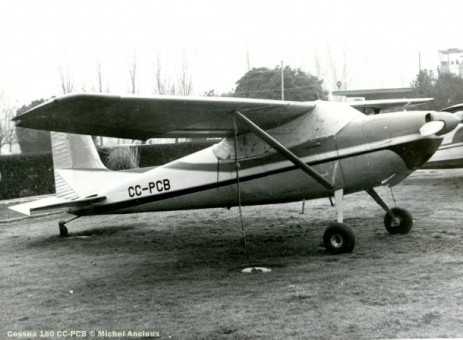 DSC_0076 Cessna 180 CC-PCB © Michel Anciaux