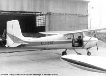 DSC_0098 Cessna 172 CC-KSF Club Aéreo de Santiago © Michel Anciaux