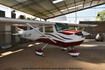 DSC_0114 Cessna 150A CC-CYP Club Aéreo Adolfo Menadier © Michel Anciaux