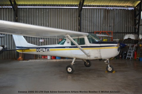 DSC_0125 Cessna 150G CC-LTH Club Aéreo Comodoro Arturo Merino Benítez © Michel Anciaux