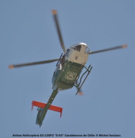 DSC_0434 Airbus Helicopters EC-135P2 ''C-03'' Carabineros de Chile © Michel Anciaux