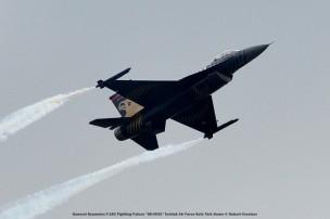 DSC_3278 General Dynamics F-16C Fighting Falcon ''88-0032'' Turkish Air Force Solo Türk Demo © Hubert Creutzer