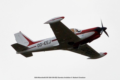 DSC_3300 SIAI-Marchetti SF-260 OO-EEJ Eureka Aviation © Hubert Creutzer