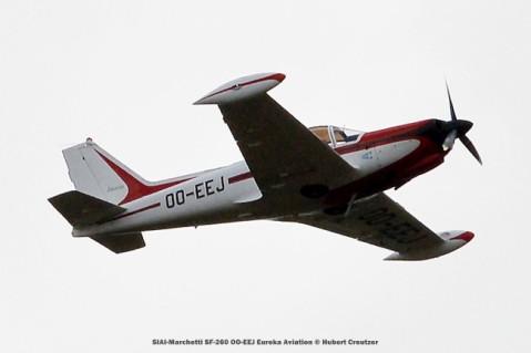 DSC_3300 SIAI-Marchetti SF-260 OO-EEJ Eureka Aviation © Hubert Creutzer