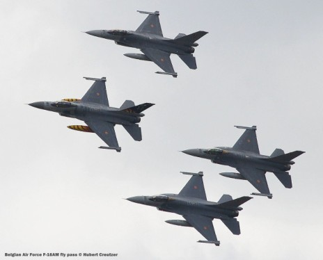 DSC_3321 Belgian Air Force F-16AM fly pass © Hubert Creutzer