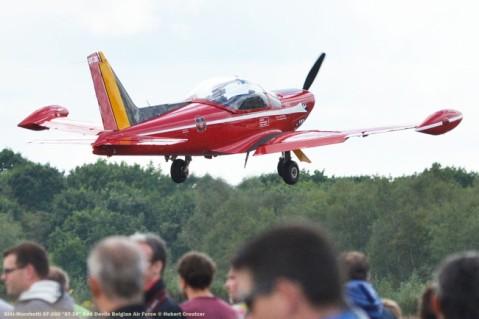 DSC_3361 SIAI-Marchetti SF-260 ''ST-36'' Red Devils Belgian Air Force © Hubert Creutzer