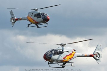 DSC_3516 Eurocopter EC-120B Colibri ''78-20'' & ''78-26'' Patrulla ASPA Spanish Air Force © Hubert Creutzer