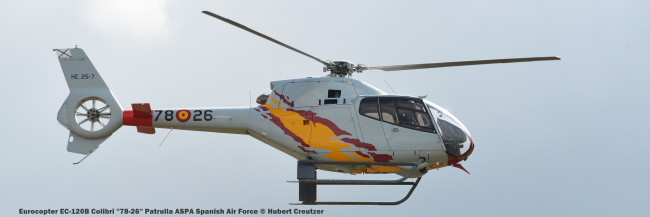 DSC_3520 Eurocopter EC-120B Colibri ''78-26'' Patrulla ASPA Spanish Air Force © Hubert Creutzer