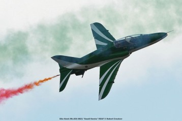 DSC_3640 BAe Hawk Mk.65A 8821 ''Saudi Hawks'' RSAF © Hubert Creutzer