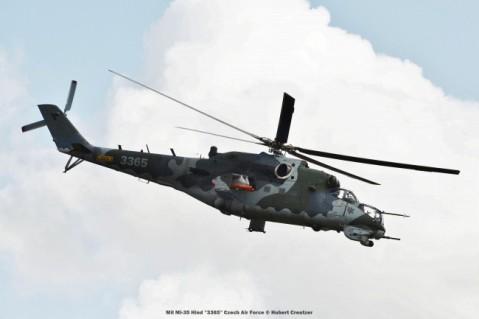 DSC_3688 Mil Mi-35 ''3365'' Czech Air Force © Hubert Creutzer