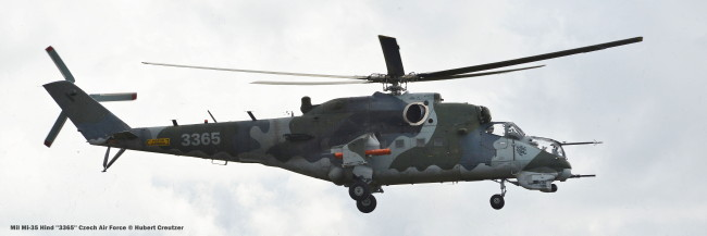 DSC_3698 Mil Mi-35 Hind ''3365'' Czech Air Force © Hubert Creutzer