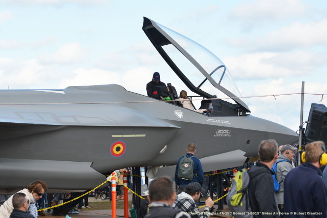 DSC_3772 Lockheed F-35 Lightning II Mockup in Belgian Air Force colors © Hubert Creutzer