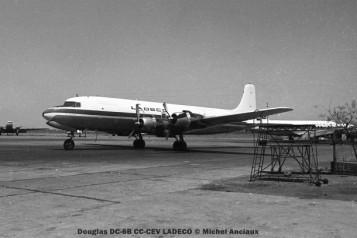 img123 Douglas DC-6B CC-CEV LADECO © Michel Anciaux