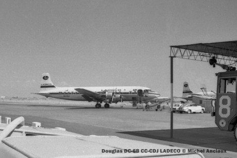 img137 Douglas DC-6B CC-CDJ LADECO © Michel Anciaux