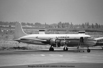 img141 Douglas DC-6B CC-CEV LADECO © Michel Anciaux