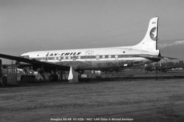 img153 Douglas DC-6B CC-CCD- ''401'' LAN Chile © Michel Anciaux