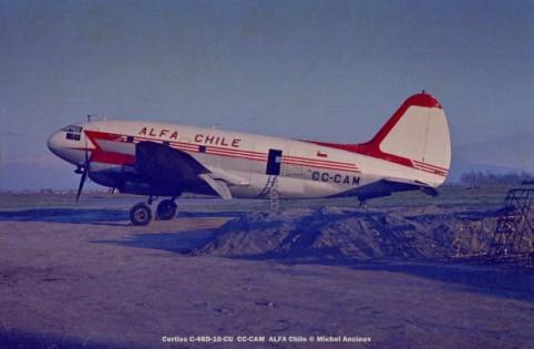 img214 Curtiss C-46D-10-CU CC-CAM ALFA Chile © Michel Anciaux
